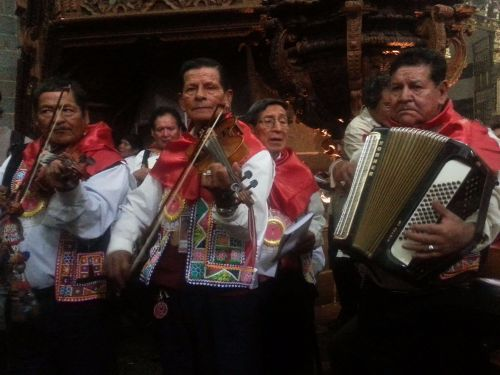 Chayñas' traditional musicians