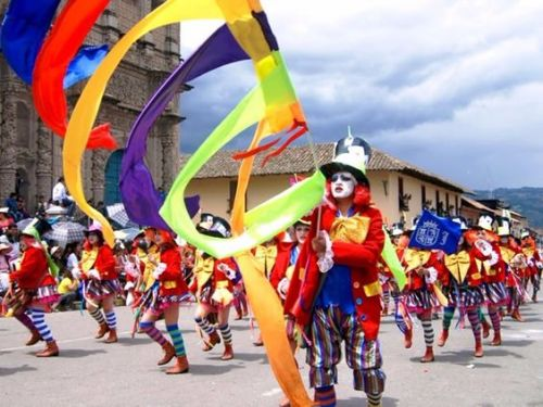 The Carnival of Cusco.